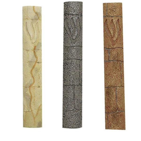 תמונה של מזוזה פוליריזן דמוי אבן